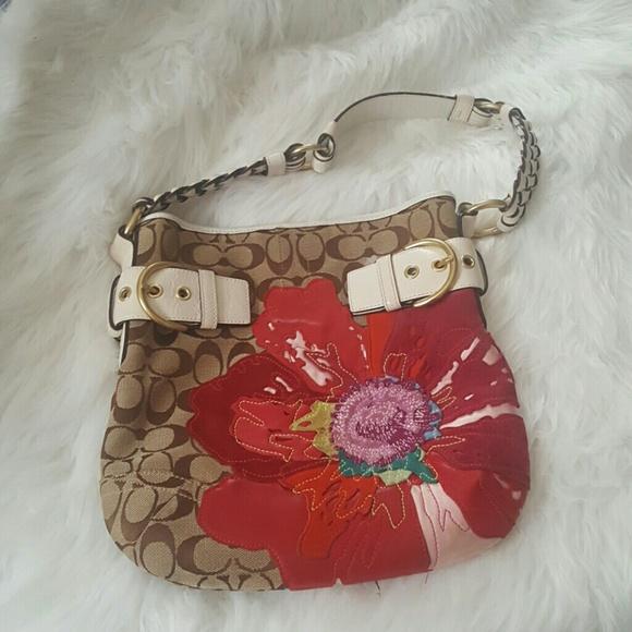 Coach Handbags - RARE Coach Poppy shoulder Bag